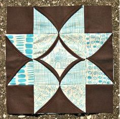 Heavenly Cathedral Window Star Block | It doesn't get more heavenly than this star block!