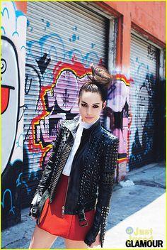 Adelaide Kane Glamour Magazine