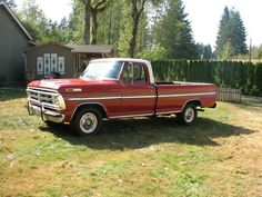 All American Сlassic Сars F100 Truck, Ford Pickup Trucks, Chevy Trucks, Classic Ford Trucks, Classic Cars, Ford F Series, Old Fords, Ford Ranger, Old Trucks