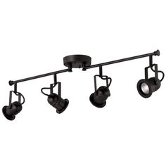 studio track lighting. shop portfolio 4light matte black fixed track light kit at lowescom studio lighting a
