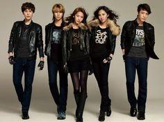 Kyuhyun, Heechul, Yoona, Yuri and Donghae for SPAO