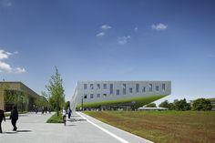 Hörsaalgebäude Osnabrück by Benthem Crouwel