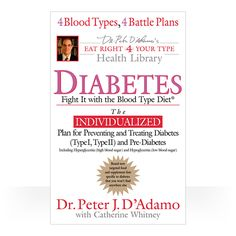 you reed book: Diabetes: Fight It With The Blood Type Diet