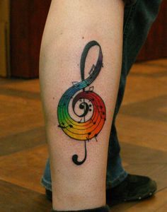 20 besten Gay Pride Tattoos - Tattoos on back - Mittagessens Gay Pride Tattoos, Gay Tattoo, Music Tattoos, Body Art Tattoos, Tatoos, Anime Tattoos, Feather Tattoos, Sleeve Tattoos, Henna Tattoo Muster