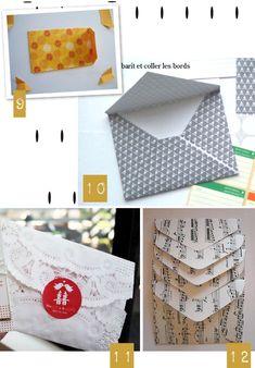 L'atelier du mercredi : de belles enveloppes maison {bonne fête maman}   PLUMETIS Magazine