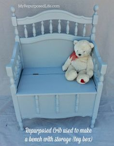 Elizabeth & Co....Recycled crib