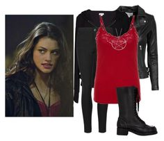 """""""Faye Chamberlain"""" by amethyst-516 ❤ liked on Polyvore featuring IRO, Velvet by Graham & Spencer and Jil Sander Navy"""