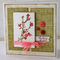 Coral Sprig by mistylynn - Cards and Paper Crafts at Splitcoaststampers