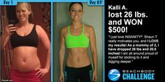 Meet Kalli A.! She participated in The Beachbody Challenge and won the $500 Daily Prize for December 3rd! Tell us about your life before you started the pr
