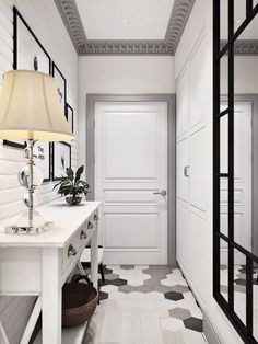 Elegant Scandinavian Interior Design Decor Ideas For Small Spaces 10 Scandinavian Interior Design, Home Interior Design, Hallway Decorating, Interior Decorating, Small Apartments, Small Spaces, Apartment Design, Interior Inspiration, Sweet Home