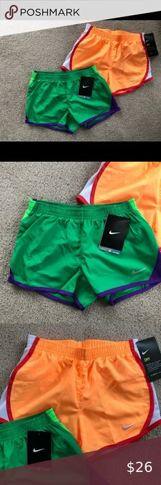 Polyester//Cotn//Blend,MSRP-$22-25 NIKE Young Girl/'s Athletic Shorts,Sizes 2T-6X