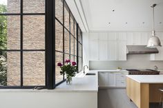 O'Neill Rose Architects renovation of an 1880s Romanesque Revival in Manhattan's Upper West Side. Photo by Michael Moran.