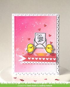 Lawn Fawn - LOVE LETTERS - Clear STAMPS – Hallmark Scrapbook
