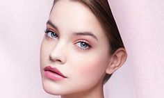 """""""One of my beauty inspirations for the spring, is this Chanel spring makeup look which I like a lot, it's very soft and a romantic look. Brown/pink lips and really rosy cheeks, matt skin, on the eyelid metallic eye shadow/crème eye shadow."""""""