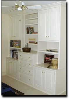 i love built-in storage! bedroom storage with style -- in a 1920's