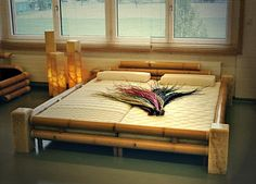 Kobe Bed , Find Complete Details about Kobe Bed,Bamboo Bed from Beds Supplier or Manufacturer-VietHome Craft co. Bamboo Furniture, My Furniture, Rustic Furniture, Furniture Design, Bamboo Bed Frame, Buy Bamboo, Bamboo Art, Asian Bedroom, Log Bed