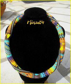 spirale crochet en mailles serrées en R15 sur 28 perles par tour Rope Necklace, Collar Necklace, Crochet Necklace, Bead Crochet Rope, Beaded Jewelry, Beaded Necklaces, Creative Crafts, Diy Fashion, Crochet Projects