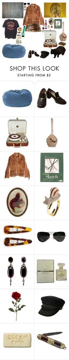 """""""can you teach me how to feel?"""" by neopetsgirlfriend ❤ liked on Polyvore featuring RCA, Kate Spade, Calypso St. Barth, A2 by Aerosoles, Miss Selfridge, Nach, France Luxe, Ray-Ban, Chanel and Shinola"""
