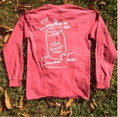 """""""You'll be my sugar, baby I'll be your sweet iced tea"""" -Blake Shelton  #oldsouthapparel"""