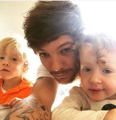 Tommo with Ernie and Doris