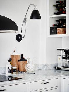 Blanco y negro con glamour | Decoración