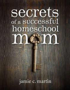 great e-book and it is free right now.    Secrets of a Successful Homeschool Mom - By Jamie Martin