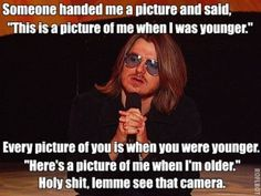 "Mitch Hedberg - ""Let me ask you a question: how do you feel about frilly toothpicks?"" ""I'm for 'em!"""