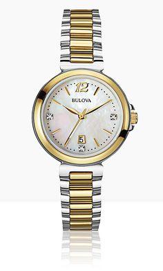 Bulova Diamond 98P142 #Bulova #Diamonds