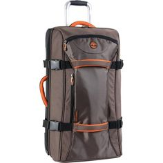 Timberland Luggage Twin Mountain 26 Inch $118.00 Wheeled Duffle, Cocoa, One Size Timberland http://smile.amazon.com/dp/B00943LHJW/ref=cm_sw_r_pi_dp_1Nv9ub0B7GFQY