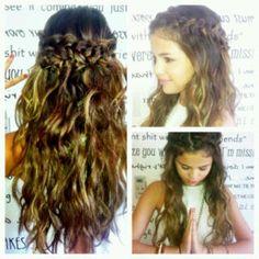 Selena Bohemian Hair