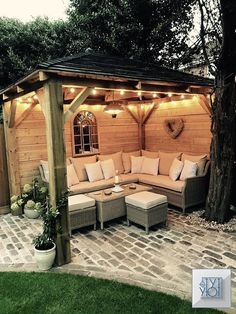27 Gorgeous Patio Deck Design Ideas To Inspire You 27 Gorgeous Patio Deck Design Ideas To Inspire You www.possibledecor… The post 27 Gorgeous Patio Deck Design Ideas To Inspire You appeared first on Best Of Likes Share. Homemade wooden gazebo Maybe oned Outdoor Rooms, Outdoor Decor, Outdoor Seating, Backyard Seating, Cozy Backyard, Cool Backyard Ideas, Outdoor Gazebos, Outdoor Ideas, Large Backyard