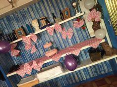 #cake #buffet #pink