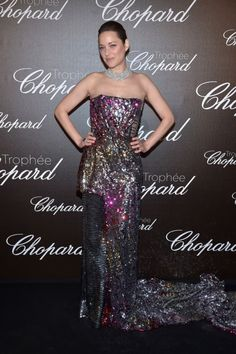 Cannes 2017 WHUT: Marion Cotillard Outdoes Herself at the Chopard Trophy Photo Call