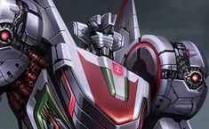 """The Autobot Wheeljack, from """"Transformers: War for Cybertron"""""""