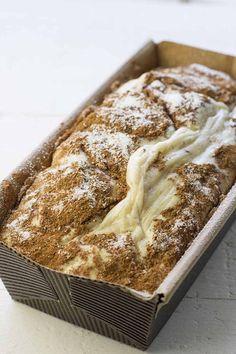 Cinnamon swirl protein cake (egg whites) | the fit blog