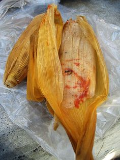 Recipe | CROCKPOT Chicken Tamales with Cheese ~ Child-Tested and Not Too Spicy #comfort food #healthy