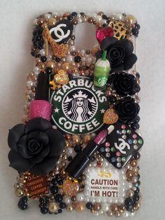 Starbucks Coffee Make Up Essentials Chanel Samsung by 4havnfn, $32.89