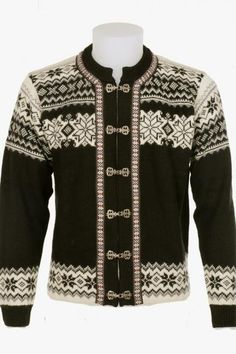 A Norlender guarantees genuine Norwegian knitwear, environmentally friendly since 1927 Pure Norwegian Wool Classic Cardigan for Men and Women This crisp Nordic Sweater, Poncho Sweater, Men Sweater, Norwegian Knitting, Knitting Stiches, Fair Isle Knitting, Wool Sweaters, Cardigans For Women, Knitwear