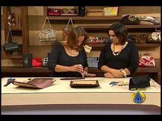 Carteira de Festa em Renda com Aba no artesanato do programa Sabor de Vida