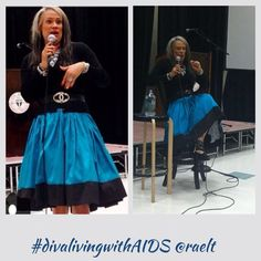 Rae Lewis-Thornton speaking at Florida A and M University about HIV/AIDS #hiv #aids #divalivingwithaids