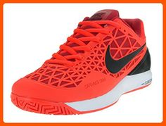 Nike Men's Zoom Cage 2 Ttl Crmsn/Blk/Unvrsty Rd/Nght Tennis Shoe 11 Men US - Our favorite sneakers (*Amazon Partner-Link)