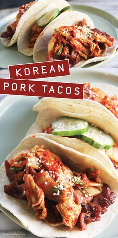 Sinfully delicious Korean pork tacos that will make the pickiest eater happy.