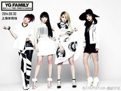 [PHOTOS] 140708 HQ Promotional Photos of 2NE1 for YG Family 2014 Galaxy Tour