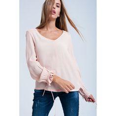 Sale - Light pink flowing blouse