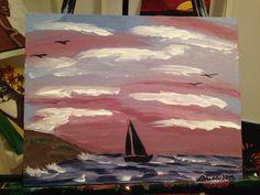 #21 Sailing rough sea