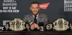 """Conor McGregor is getting more and more serious by the day about the business of being Conor McGregor.  McGregor'scompany, McGregor Sports and Entertainment, has been filing for trademarks recently, including the fighter's name and his nickname, """"The Notorious."""" Just what is in the plans for"""