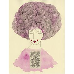 Art Print Madame RoseHOLIDAY SALE Buy two by ValerieGalloway, $25.00