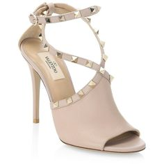 Valentino Leather Ruched Sandals discount fashionable free shipping low cost discount get authentic sale deals lnRYCIq