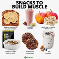 New healthy weight gain snacks nutrition 69 Ideas Weight Gain Meals, Healthy Weight Gain, Weight Loss Snacks, Lose Weight, Weight Gain Plan, How To Gain Weight For Women, Food To Gain Muscle, Muscle Food, Muscle Building Foods
