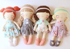 Handmade dolls and home decor
